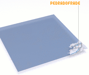 3d view of Pedra do Frade