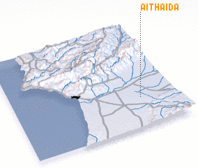 3d view of Aït Haïda