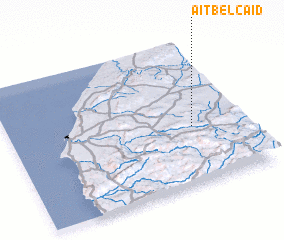 3d view of Aït Bel Caïd
