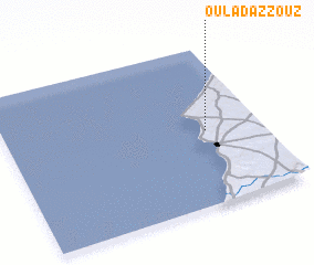 3d view of Oulad Azzouz