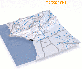 3d view of Tassademt