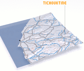 3d view of Tichouktine