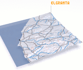 3d view of El Gramta