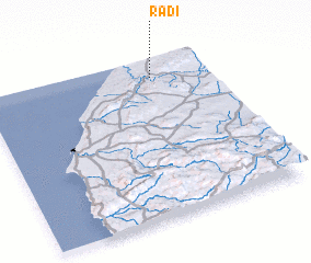 3d view of Radi