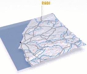3d view of Radi