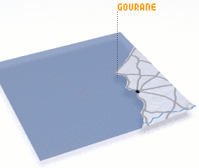 3d view of Gourane