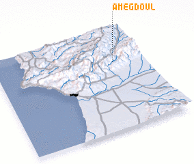 3d view of Amegdoul