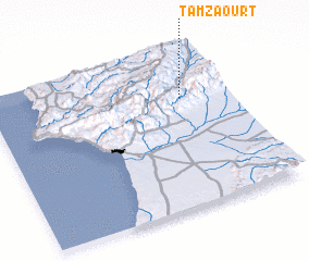 3d view of Tamzaourt