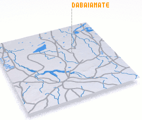 3d view of Dabaï Amate