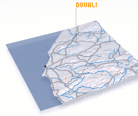 3d view of Douali