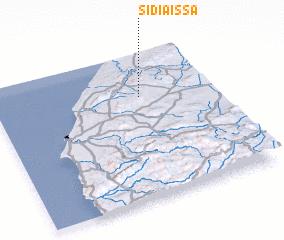 3d view of Sidi Aïssa