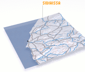 3d view of Sidi Aïssa