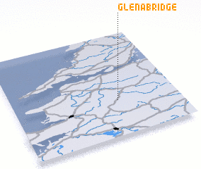 3d view of Glena Bridge