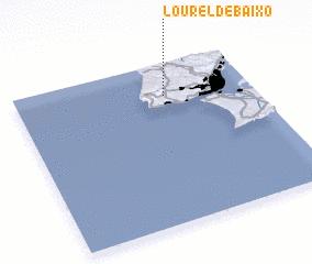 3d view of Lourel de Baixo