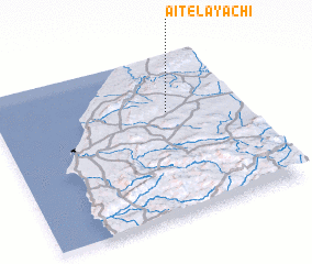 3d view of Aït el Ayachi