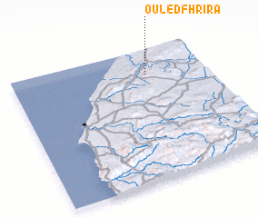 3d view of Ouled Fhrira