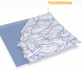 3d view of Tiguemmouda