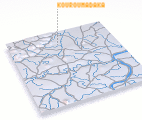 3d view of Kourouma Daka