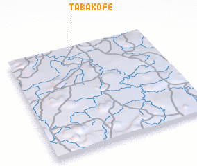 3d view of Tabakofé