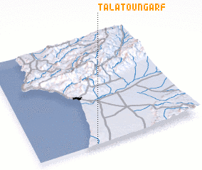 3d view of Talat Oungarf