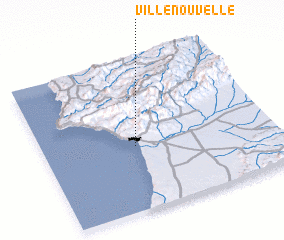 3d view of Ville Nouvelle