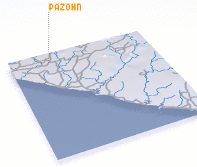 3d view of Pazohn