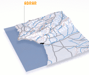 3d view of Adrar