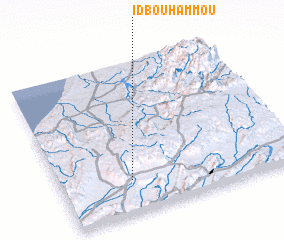 3d view of Id Bou Hammou
