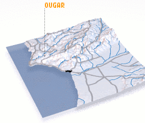 3d view of Ougar