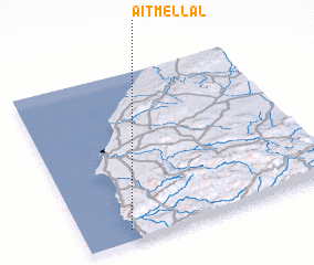 3d view of Aït Mellal