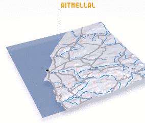 3d view of Aït Mellal