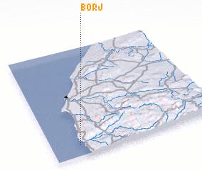 3d view of Borj