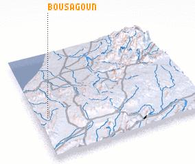 3d view of Bou Sagoun