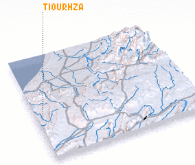 3d view of Tiourhza