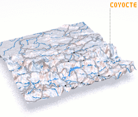 3d view of Coyocté