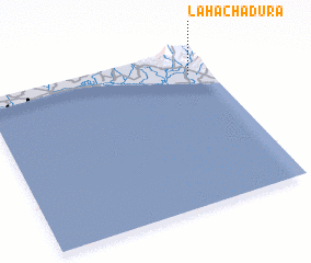 3d view of La Hachadura