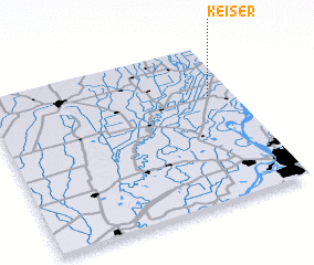 3d view of Keiser
