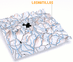 3d view of Los Hatillos