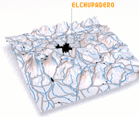 3d view of El Chupadero