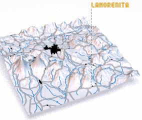 3d view of La Morenita