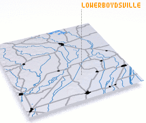 3d view of Lower Boydsville