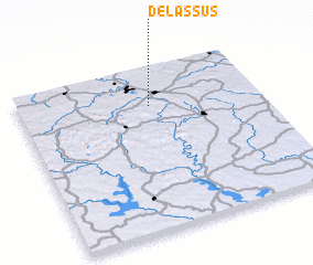 3d view of De Lassus