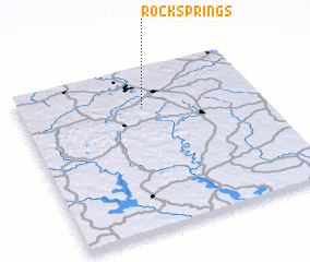 3d view of Rock Springs