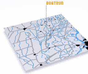 3d view of Boat Run