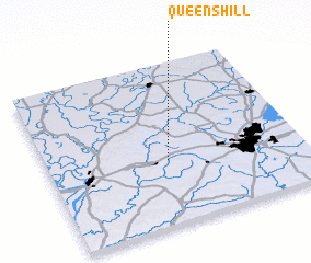 3d view of Queens Hill