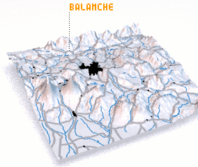 3d view of Balamché