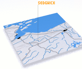 3d view of Sedgwick