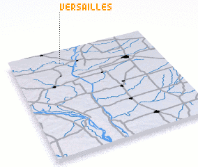 3d view of Versailles