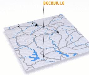 3d view of Beckville