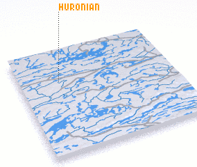 3d view of Huronian